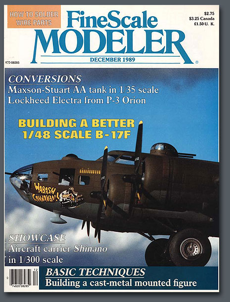 Monogram B17F Conversion | Paul Budzik | Fine Scale Modeling