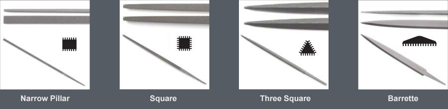 Hand Shape 12 in Length Double Cut American Pattern File